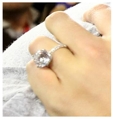 Gallery Our Favourite Celebrity Engagement Rings From The