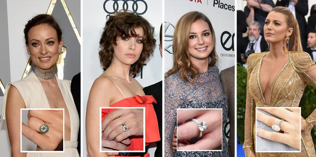 f6a7241f8cf22 Gallery: Our favourite celebrity engagement rings, from the subtle ...