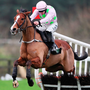 Faugheen, under Paul Townend, clears the last on the way to victory at Punchestown. Photo: PA