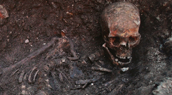 The remains of King Richard III found in a car park in Leicester