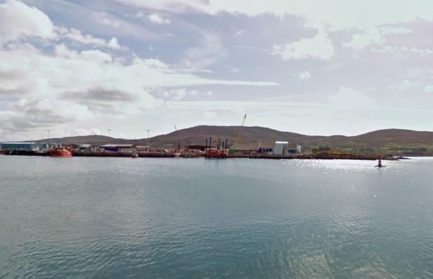 The vessel was assisted by a tug into Castletownbere port in west Cork last week but a routine survey immediately revealed a major insect infestation on board (Photo: Stock image/Google Maps)