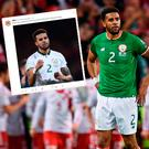 Ireland fans have come out in support of Cyrus Christie following online abuse