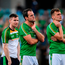 Ireland players, left to right, Conor McManus, Karl O'Connell, Michael Murphy and Enda Smith