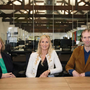 Portershed Innovation Community Manager Mary Rodgers; Michelle Murphy, Director, Collins McNicholas and John Breslin, Insight Centre, NUI Galway