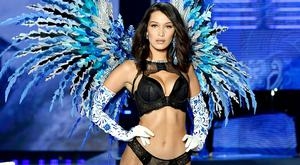 Model Bella Hadid walks the runway during the 2017 Victoria's Secret Fashion Show In Shanghai at Mercedes-Benz Arena on November 20, 2017 in Shanghai, China