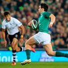 Joey Carbery is destined to achieve great things in Ireland jersey, according to Stuart Lancaster. Photo: Getty Images
