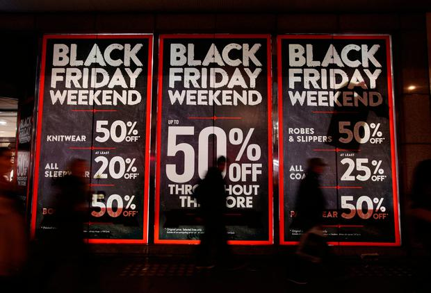 Online buyers have been warned to get up to speed on their consumer rights ahead of the Black Friday and Cyber Monday shopping sprees. Photo: PA