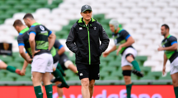 Joe Schmidt and Ireland would relish beating Argentina after their World Cup defeat to the Pumas. Photo: Ramsey Cardy/Sportsfile