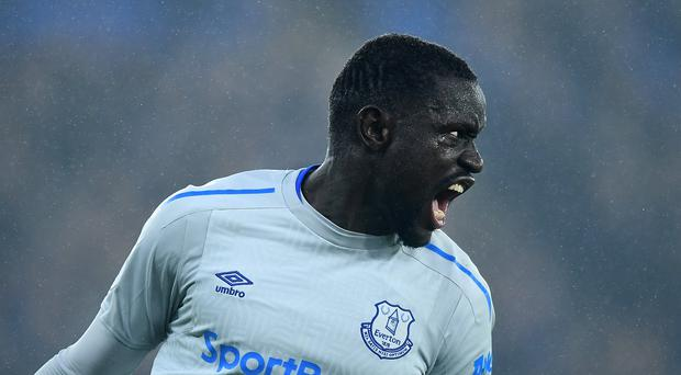 Everton's Oumar Niasse charged with alleged act of simulation against Crystal Palace