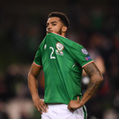Cyrus Christie of Republic of Ireland following the FIFA 2018 World Cup Qualifier Play-off 2nd leg match between Republic of Ireland and Denmark at Aviva Stadium in Dublin. Photo by Stephen McCarthy/Sportsfile