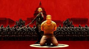 Wolfenstein II: The New Colossus - Blazkowicz in a spot of bother with the Nazis