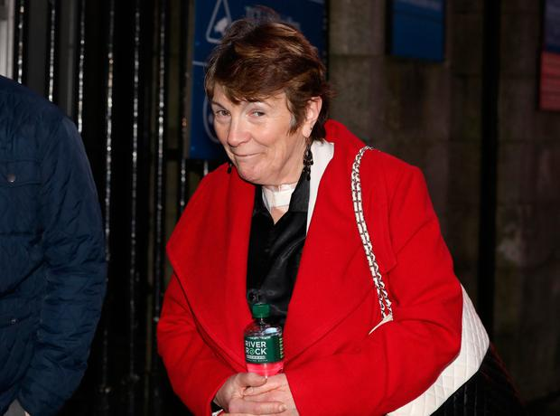 Ellen O'Mahony leaving the Four Courts yesterday. Photo: Collins Courts