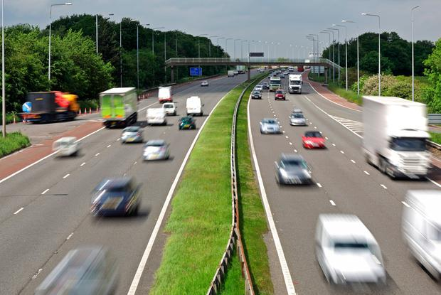 Spending on roads, rail and other transport infrastructure is €1.3bn below the level needed to maintain it in good working order. Stock photo