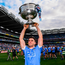 Bernard Brogan of Dublin celebrates 2017 All Ireland win