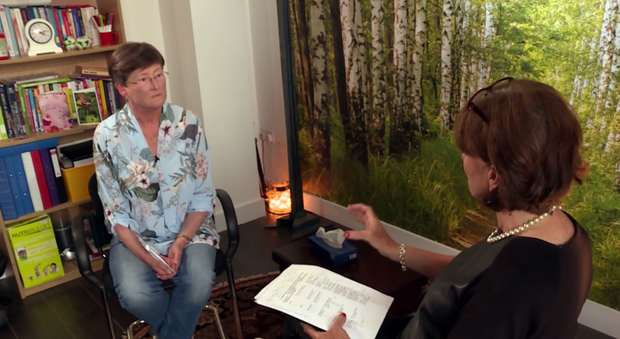 """Mairead McGrath with Deirdre McSwiney, an expert in Cognitive Behavioral Therapy for Insomnia (CBTI), on tonight's documentary """"Awake – the Science of Sleep""""."""