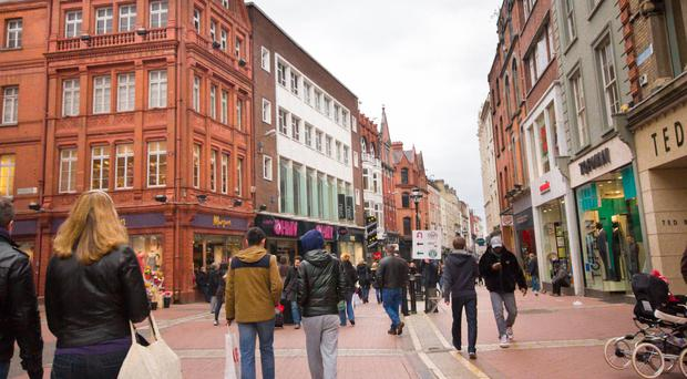 Dublin's Grafton Street ranks 11th in Europe for retail footfall - but doesn't make luxury list