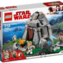 The new Lego set, depicting the island of Ahch-To from 'Star Wars: The Last Jedi'