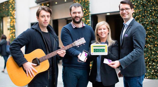 Tap more than your feet as charities and buskers go digital