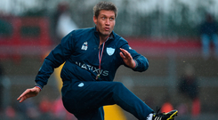 Ronan O'Gara can switch seamlessly from Racing 92 defence coach into his new role at Crusaders, according to the club's All Blacks legend Richie McCaw. Photo: Sportsfile