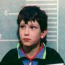Undated police handout photo of Jon Venables, one of the child killers of toddler James Bulger, who, it has been reported, has been returned to prison for a second time after he was caught with child abuse images again. Photo: PA/PA Wire