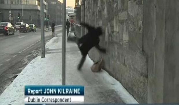PIC: RTE Six One News January 2010