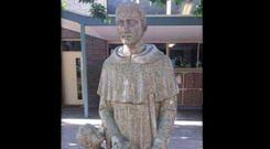 'A local sculptor has been commissioned to re-design it,' says principal