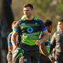 Robbie Henshaw during Ireland squad training at Carton House
