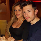 Roz Lipsett and her boyfriend Rob. Photo: Instagram