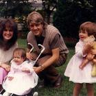 Natasha Rocca with her parents Michelle and John, and her sister Danielle.