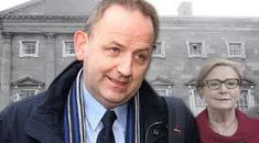 Maurice McCabe and Frances Fitzgerald