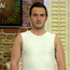 Patrick McNulty modeled men's shapewear on Today with Maura & Daithi on RTE