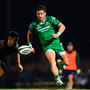Connacht will benefit from Tiernan O'Halloran's absence from the Ireland set-up this weekend. Photo: Sportsfile