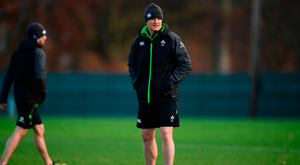 Robbie Henshaw has been ruled out Ireland's crunch clash against Argentina