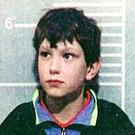 Jon Venables, one of the child killers of toddler James Bulger. It has been reported that Venables has been returned to prison for a second time (PA)