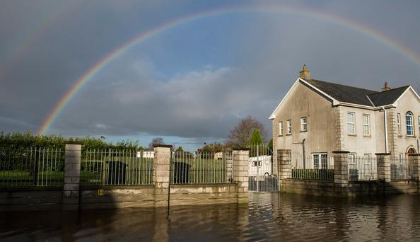 Dozens of homes flooded after three rivers burst their banks