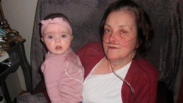 Marion with her granddaughter Mia