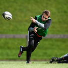 James Hart of Munster during Munster Rugby squad training at the University of Limerick in Limerick. Photo by Diarmuid Greene/Sportsfile