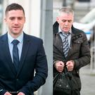 Alan Freeman (left) Philip Roche (centre) and Patrick Roche (right) outside Limerick Circuit Court
