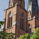 A church in Uppsala in Sweden