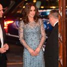 Britain's Prince William and Catherine, Duchess of Cambridge, attend the Royal Variety Performance at the Palladium Theatre, in London, Britain November 24, 2017. REUTERS/Eddie Mulholland/Pool