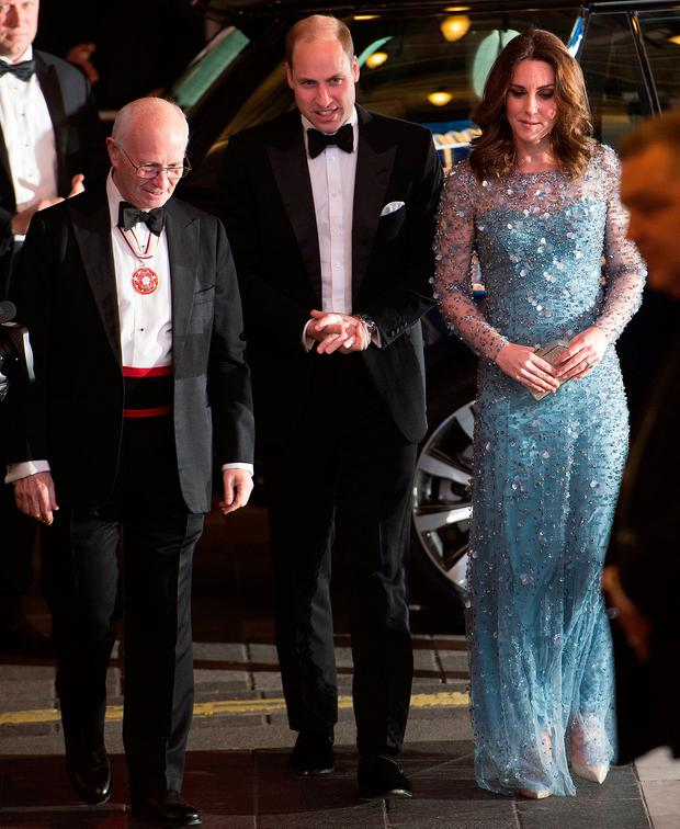 Kate Middleton looked like a total Disney princess last night