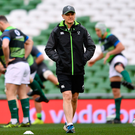 Joe Schmidt and Ireland would relish beating Argentina after their World Cup defeat to the Pumas. Photo: Sportsfile