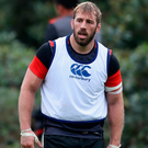 Chris Robshaw during the England training session held at Pennyhill Park. Photo: Getty Images