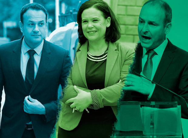 A bad marriage in reverse: Leo, Mary Lou and Micheál are preparing their arsenal of insults for the next general election