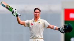 Steve Smith scored the slowest Ashes century by an Australian since 1993. Photo: Getty Images