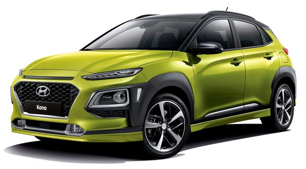 The Hyundai Kona which is already assured a top-10 place in January's sales figures