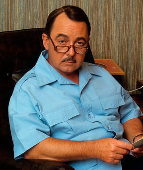 TEXAN TOFF: John Hillerman perfected his English accent
