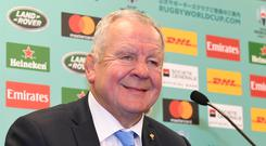 World Rugby chairman Bill Beaumont hailed it as