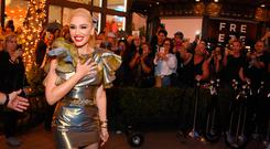 Gwen Stefani in Los Angeles, California. (Photo by Araya Diaz/Getty Images for Caruso)