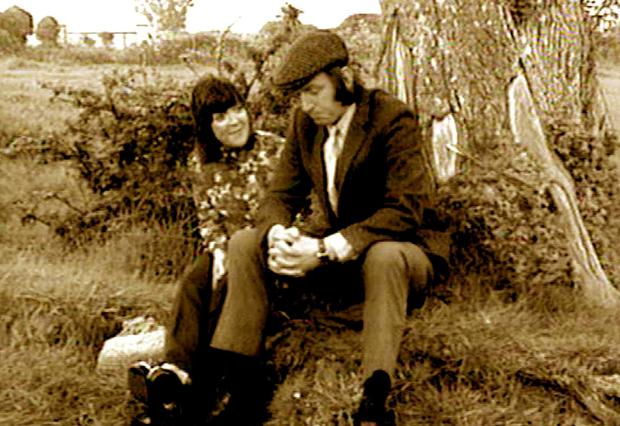 Biddy White Lennon with Tom Hickey as Maggie and Benji in 'The Riordans'